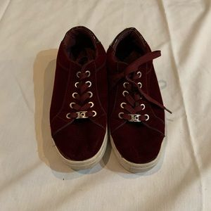 Velvet sneakers surprisingly by Liz claiborne